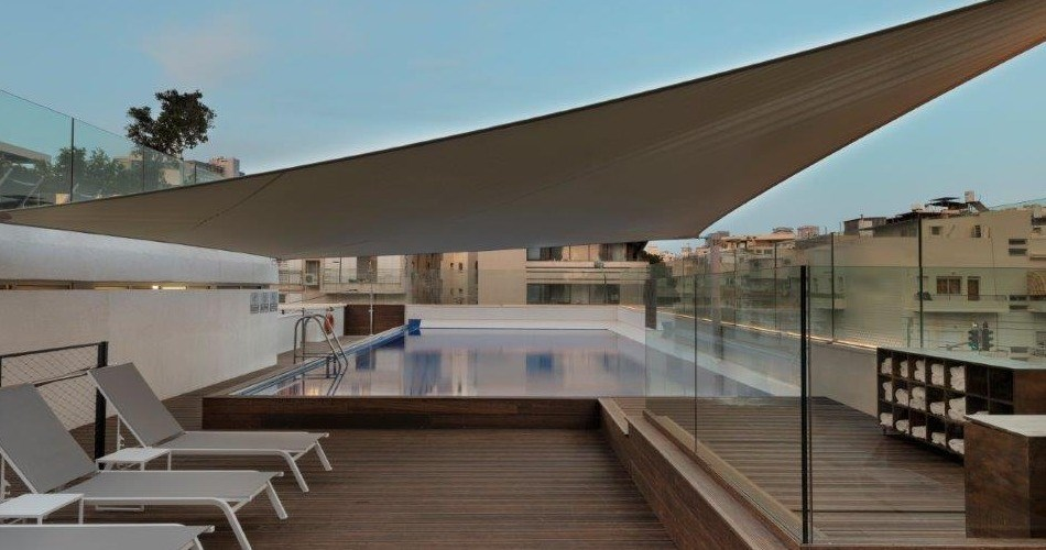 Rooftop Pool - Metropolitan Hotel Tel Aviv